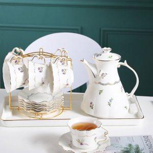 bình trà vintage