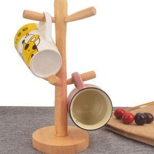 Cây treo cốc gỗ
