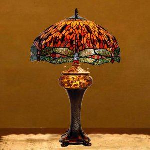 Đèn bàn chuồn chuồn Tiffany
