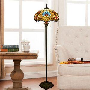 Đèn cây Tiffany châu âu