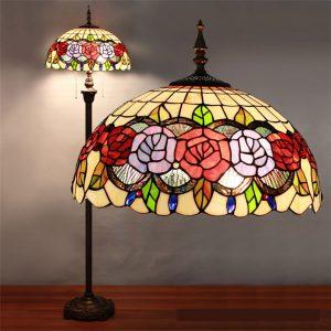 Đèn cây Tiffany Rose