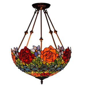 Đèn thả trần Tiffany Rose