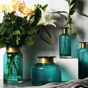 Lọ hoa trang trí BlueGold