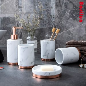 Set phòng tắm Marble Cooper