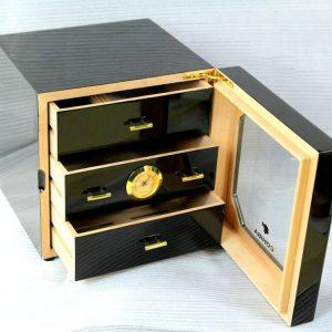 Tủ bảo giữ ẩm xì gà mini COHIBA