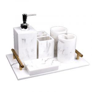 set phòng tắm marble