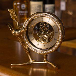Đồng hồ để bàn trang trí Én Xuân
